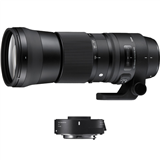 Sigma 150-600mm f/5-6.3 DG OS HSM Contemporary Lens and TC-1401 1.4x Teleconverter Kit for Canon EF